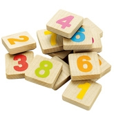 Sevi - Wooden Set Magnetic Number