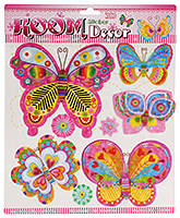 Fab N Funky Room Decor 3D Handmade Stickers- Butterfly