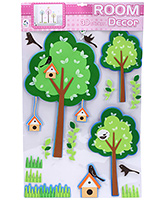 Fab N Funky Room Decor 3D Tree Sticker - Green
