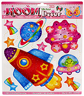 Fab N Funky Room Decor 3D Handmade Stickers- Missile