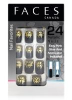 Faces Nail Favorites 24 Metallic Nails - 02