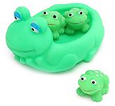 Fab N Funky Frog Shape Baby Bath Toys- Set of 4
