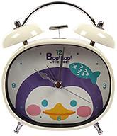 Fab N Funky Boo! Boo! Little Boo! Print Baby Clock- Cream