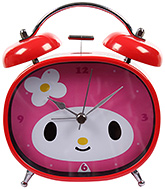 Fab N Funky Boo! Boo! Little Boo! Print Baby Clock- Red