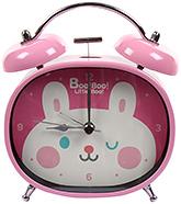 Fab N Funky Boo! Boo! Little Boo! Print Baby Clock- Pink