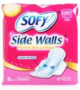 Sofy Dry Side Walls Sanitary Napkin - Regular