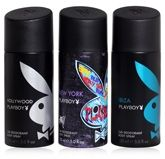 Playboy Pack Of 3 Deodorant Sprays