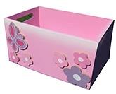 Buy  Kidoz Butterfly Motif Utility Box
