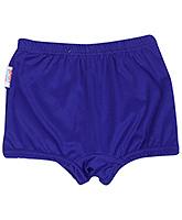 Buy Bosky Plain Blue Swimming Trunks