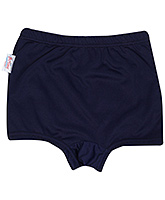 Buy Bosky Plain Navy Blue Swimming Trunks