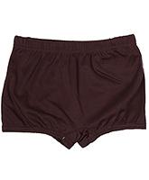 Buy Bosky Plain Brown Swimming Trunks
