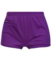 Buy Bosky Plain Purple Swimming Trunks