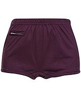 Buy Bosky Plain Light Purple Swimming Trunks