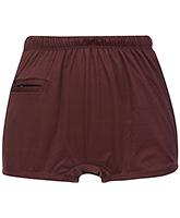 Buy Bosky Plain Light Brown Swimming Trunks