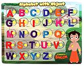 Prasima Toys Chhota Bheem Puzzles Alphabet Object
