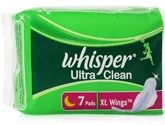 Whisper Ultra Clean Sanitary Napkins - XL Wings