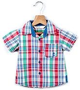 Buy Beebay Half Sleeves Shirt With Multi Color Checks