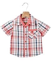 Buy Beebay Half Sleeves Shirt Multicolor Check Print