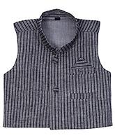 Buy Babyhug Sleeveless Front Open Ethnic Jacket