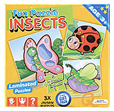 Buy Quixot Fun Laminated Puzzle Insects
