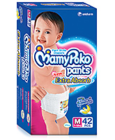 Mamy Poko Extra Absorb Pant Style Diaper Medium - 42 Pieces