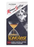 Kamasutra Longlast Condoms - Pack Of 20