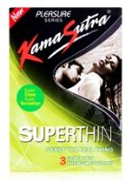 Kamasutra Superthin Condoms - Pack Of 3