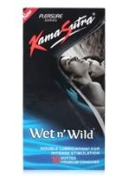 Kamasutra Wet n Wild Condoms - Pack Of 10