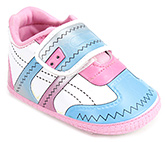 Buy Littles Sports Baby Booties - Pink And Blue