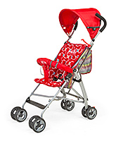 Buy Luv Lap Sunshine Baby Buggy Stroller - Red