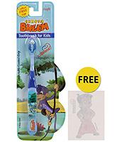 Buy Chhota Bheem Soft Tooth Brush Jaggu Print - Blue