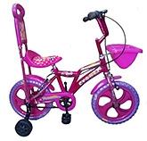 Buy Khaitan Economy Bicycle Pink - 14 Inches Wheel Diameter