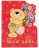 Archies Teddy Print Slam Book - 92 Pages