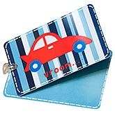 Buy Fly Frog Car Printed Luggage Tag