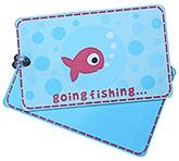 Buy Fly Fag Fish Printed Luggage Tag