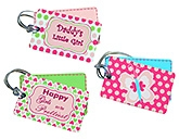 Buy Fly Frog Printed Luggage Tags - Set of 3