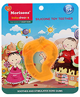 Buy Morisons Baby Dreams Silicone Toy Teether- Yellow