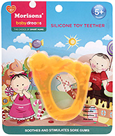 Buy Morisons Baby Dreams Silicone Toy Teether- Orange