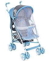 Buy Fab N Funky Stroller - Blue And Grey