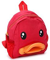 Buy Fab N Funky School Bag Duck Design - Red