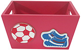 Buy Kidoz Sports Design Utility Container - Red