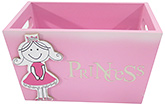 Buy Kidoz Princess Utility Container - Light Pink