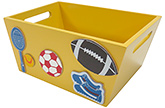 Buy Kidoz Sports Utility Container - Yellow