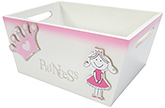Buy Kidoz Princess Utility Container - Pink And White