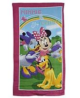 Buy Sassoon Minnie And Daisy Printed Towel