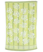 Buy Sassoon Baby Bath Towel Flower Twist Green