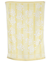 Buy Sassoon Baby Bath Towel Flower Twist Yellow