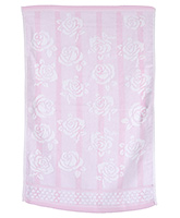 Buy Sassoon Baby Bath Towel Flower Twist Light Pink