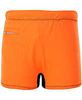 Buy Veloz Swimming Trunks With Zigzag Top Stitch - Orange