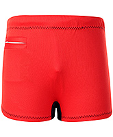 Buy Veloz Swimming Trunks With Zigzag Top Stitch - Red